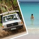 Island Safari: 4x4 & Beach Break