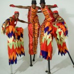 The amazing stilt men!