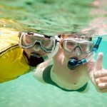 Complimentary snorkelling gear is provided!